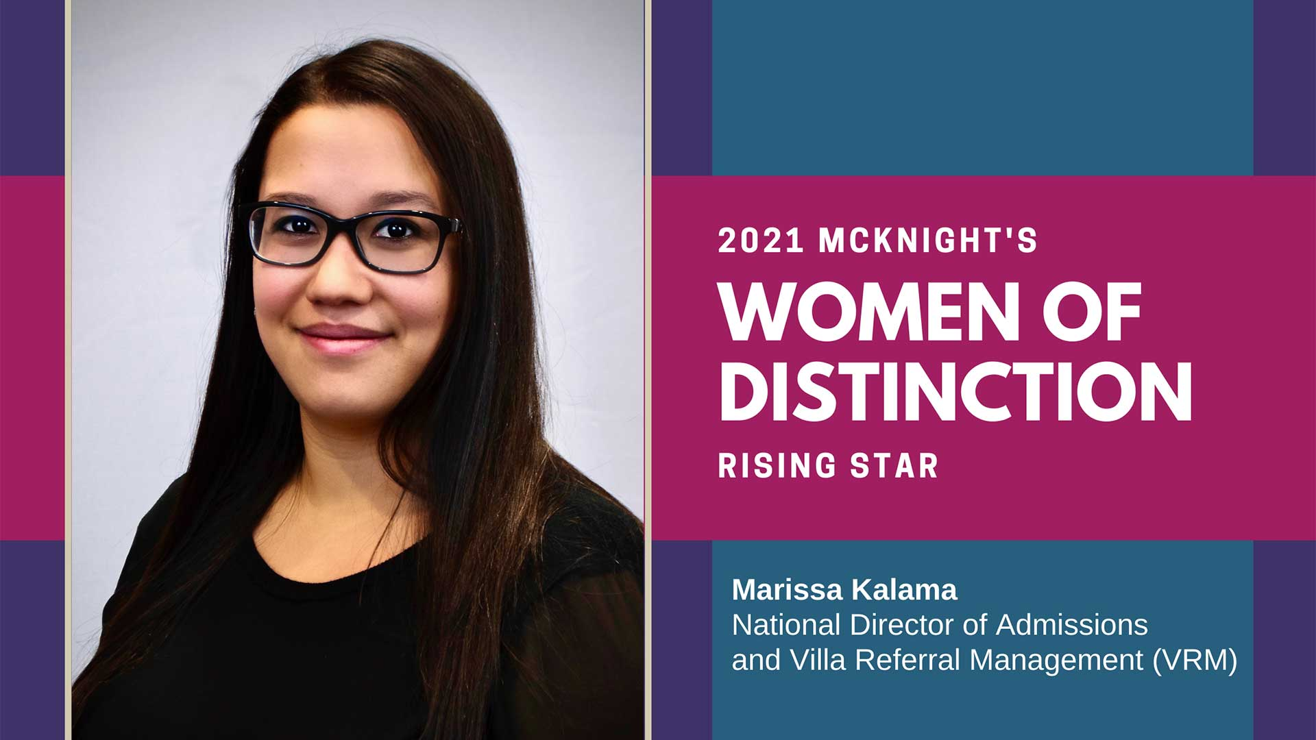 Marissa-Kalama-as-McKnights-Women-of-Distinction-Rising-Star